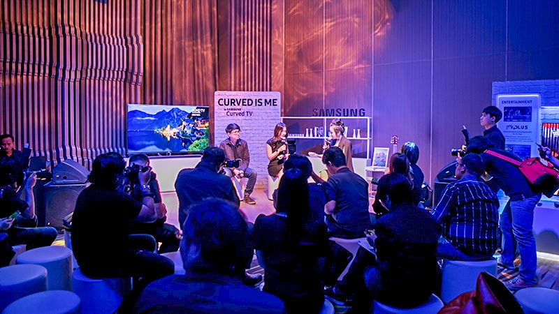 Samsung CURVED IS ME Event Recap dooddot 22.5
